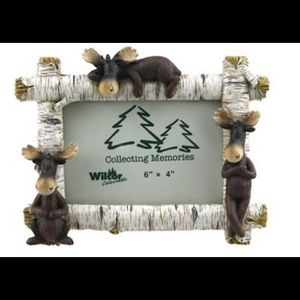 BIRCH MAX MOOSE PICTURE FRAME 6X4